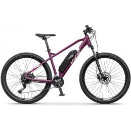 "Elektrokolo MTB 27,5"" Apache Yamka E4 ruby purple, 14,5"""